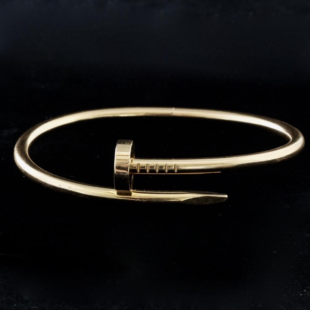Roségouden armband Juste Un Clou