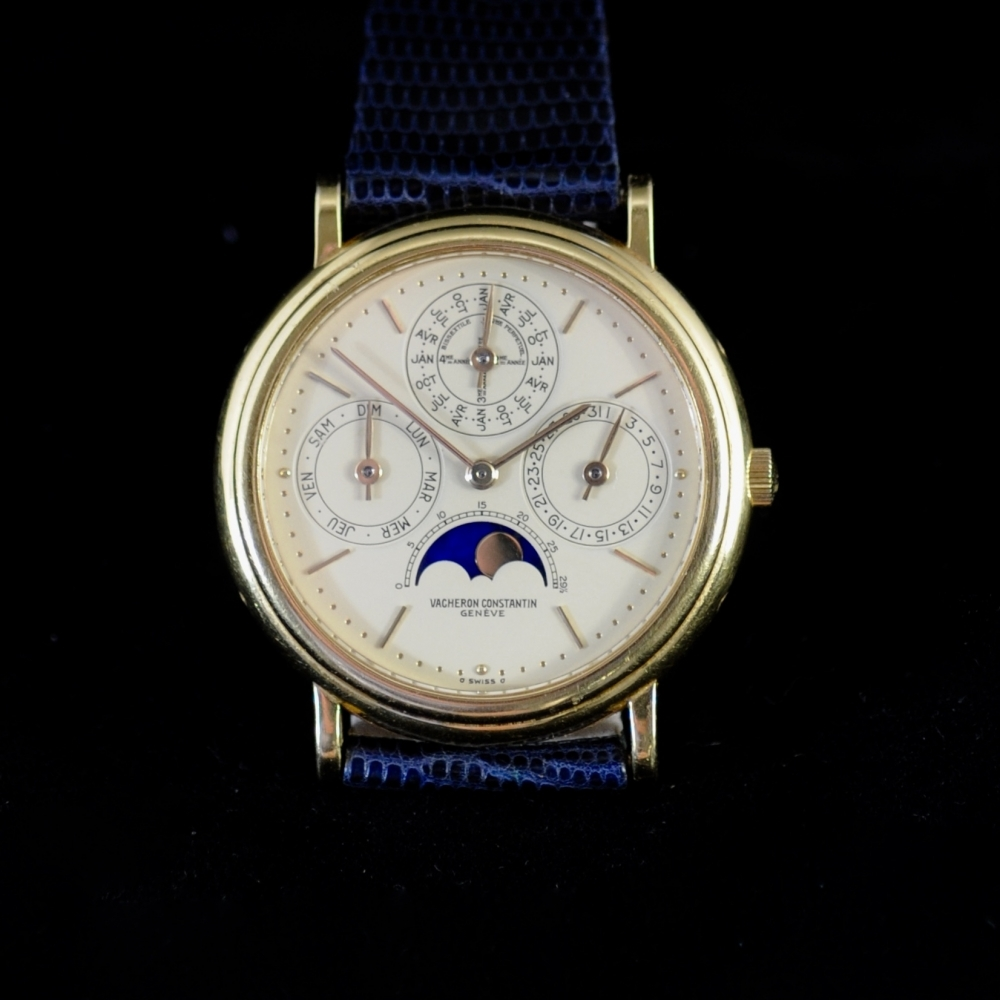 Perpetual Calender moonphase automatic.