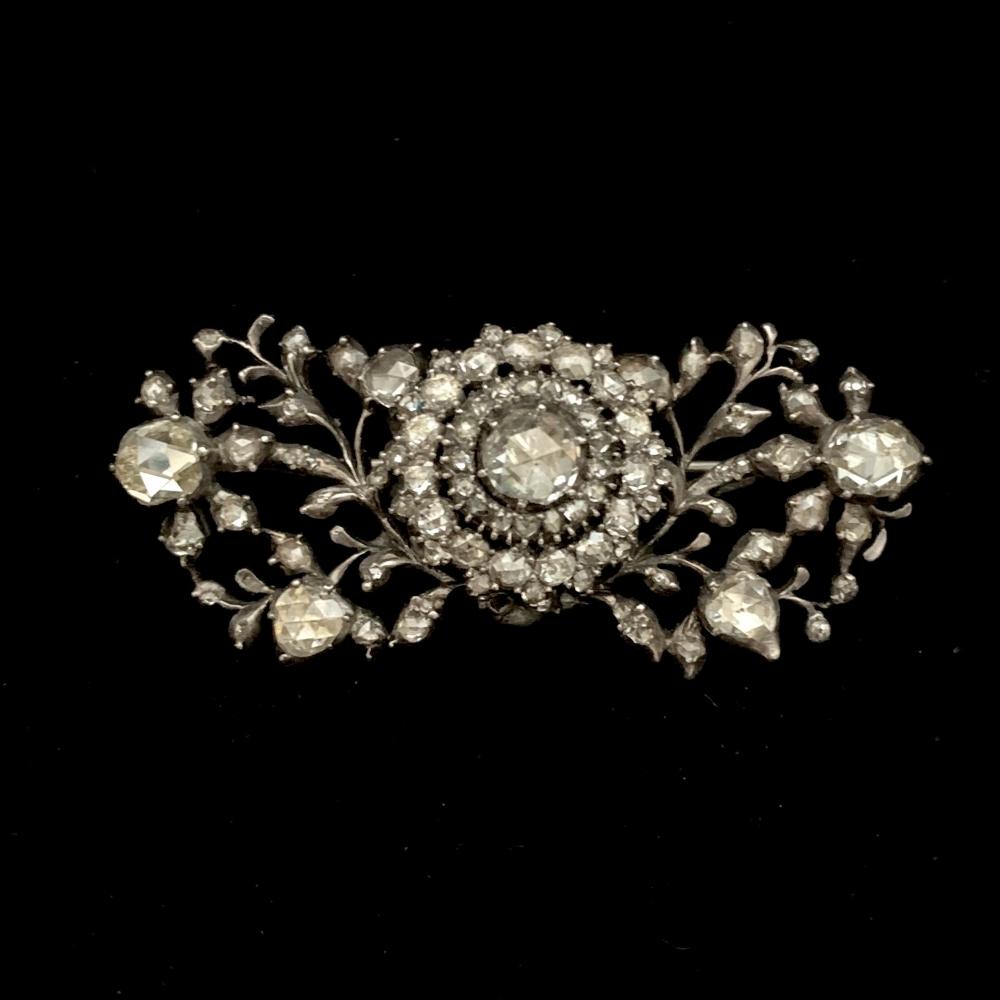 Antieke diamanten broche