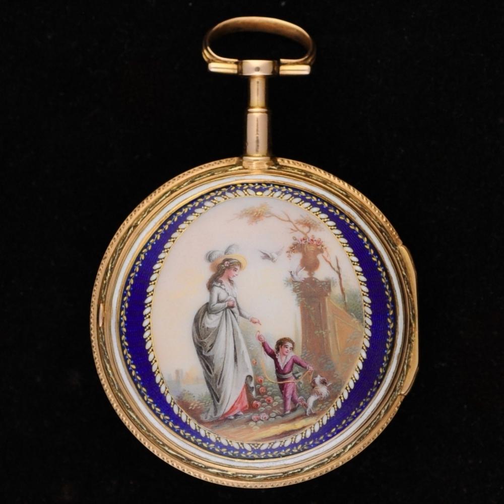 Elzasser horloge Louis XVI