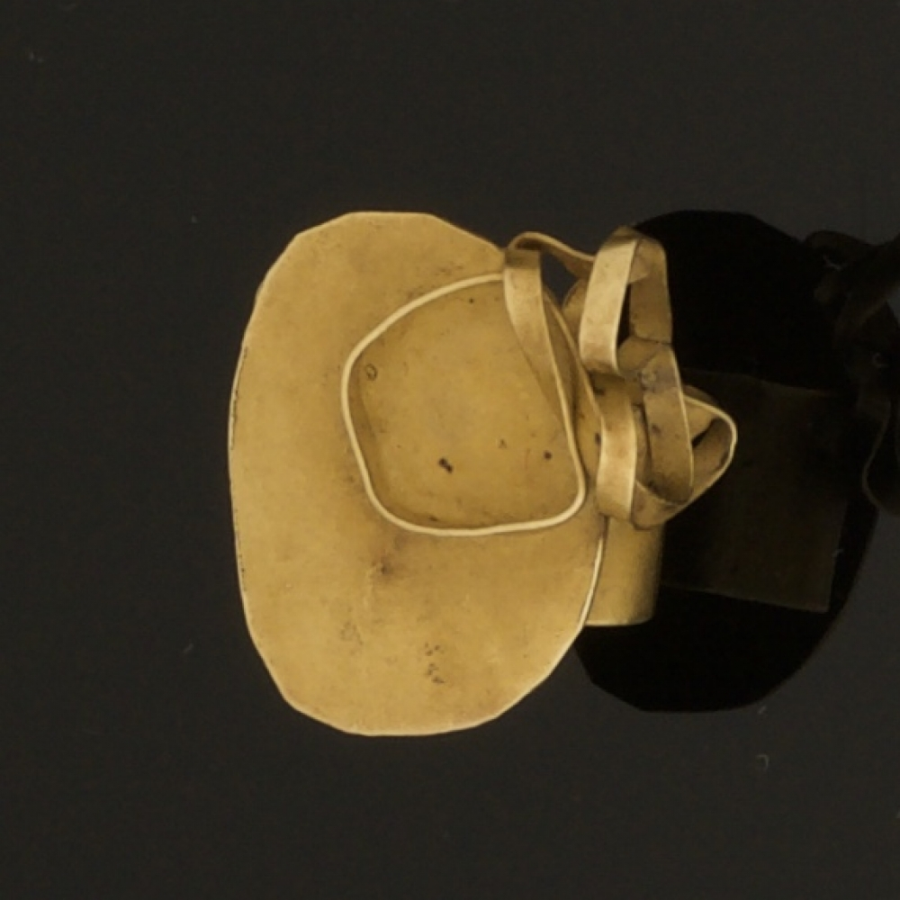Gouden design ring