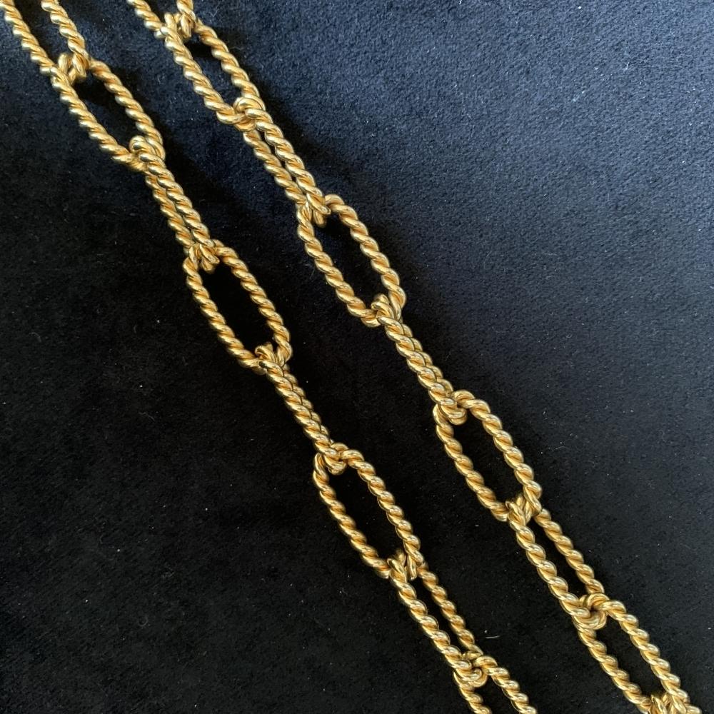 Halsketting met broche/hanger