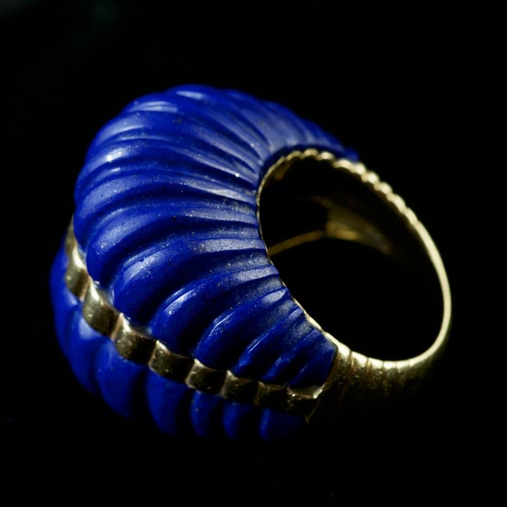 Grote ring met Lapis Lazuli