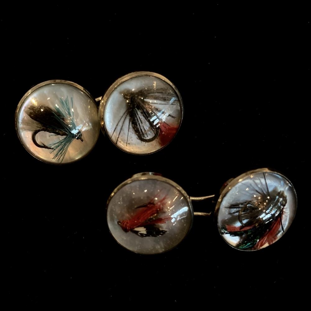 Manchetknopen met kristal intaglio