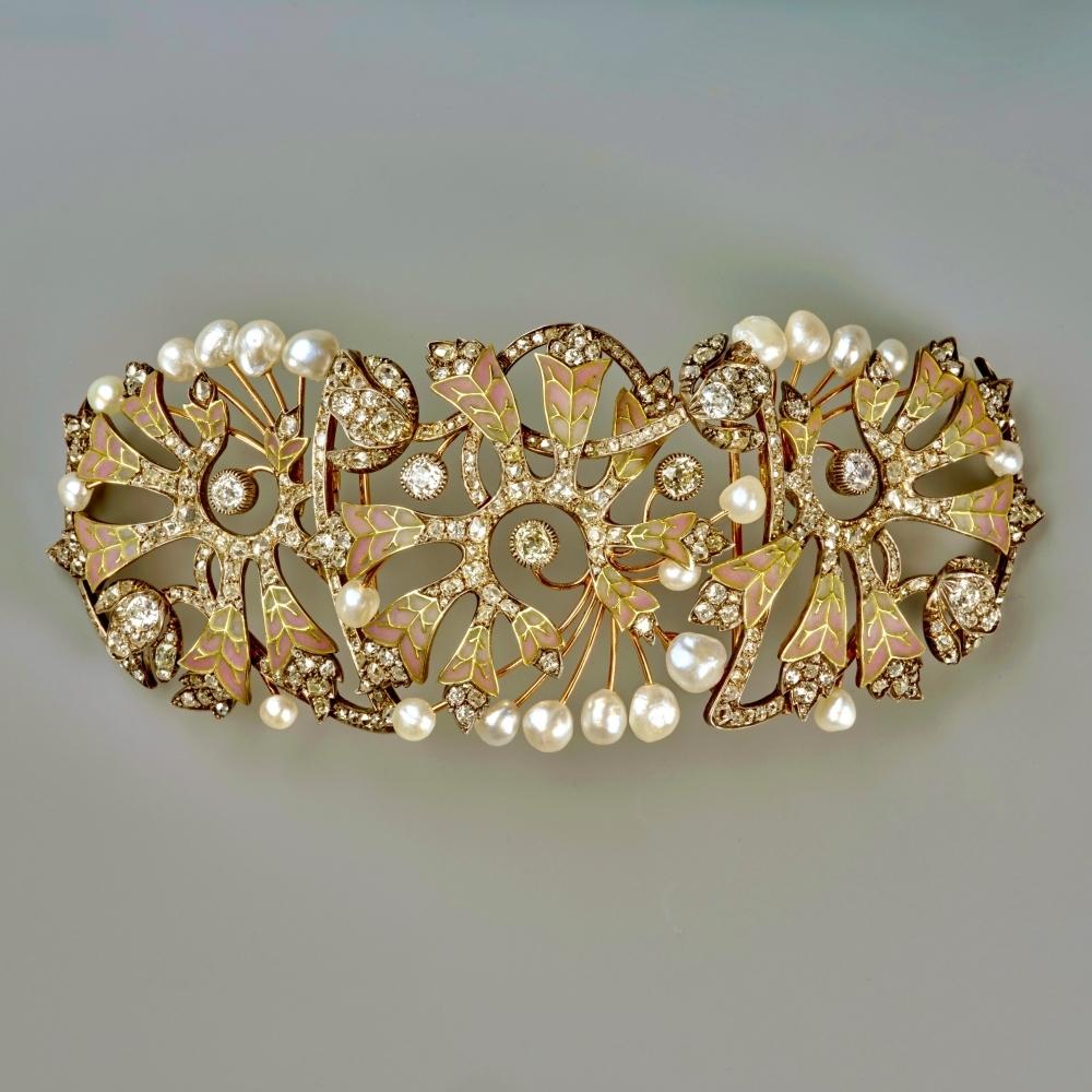 Halsband, Art Nouveau