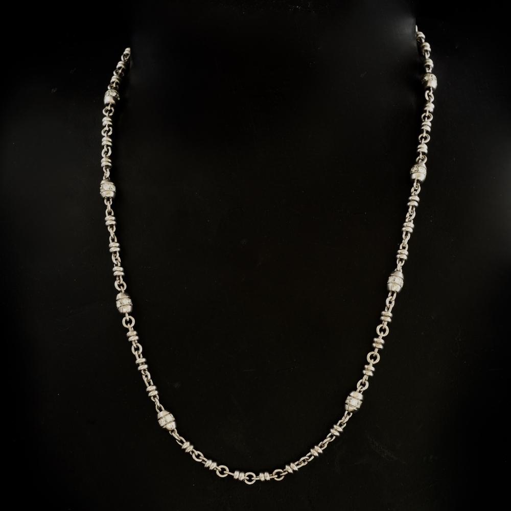 Collier met diamanten