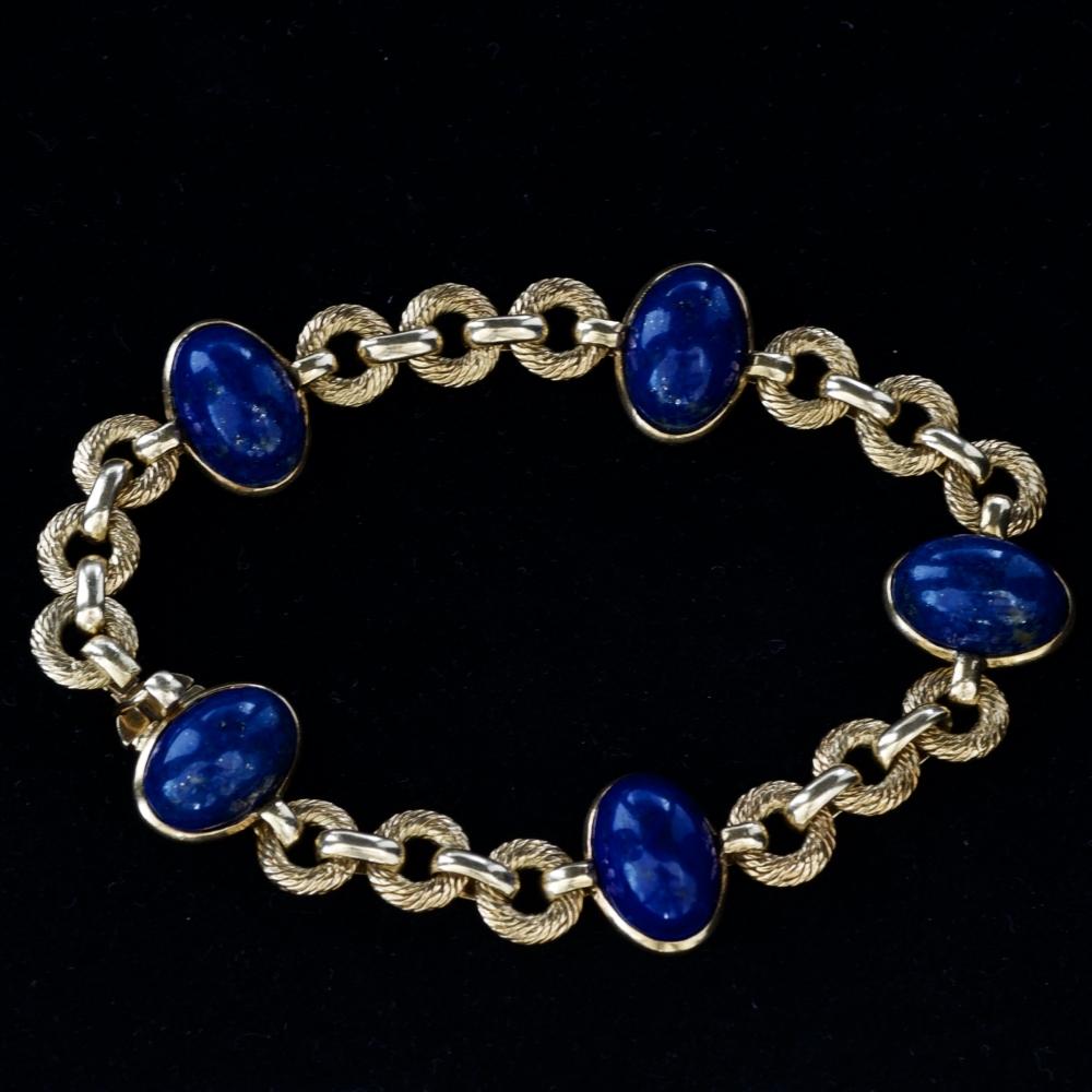 Armband met lapis lazuli