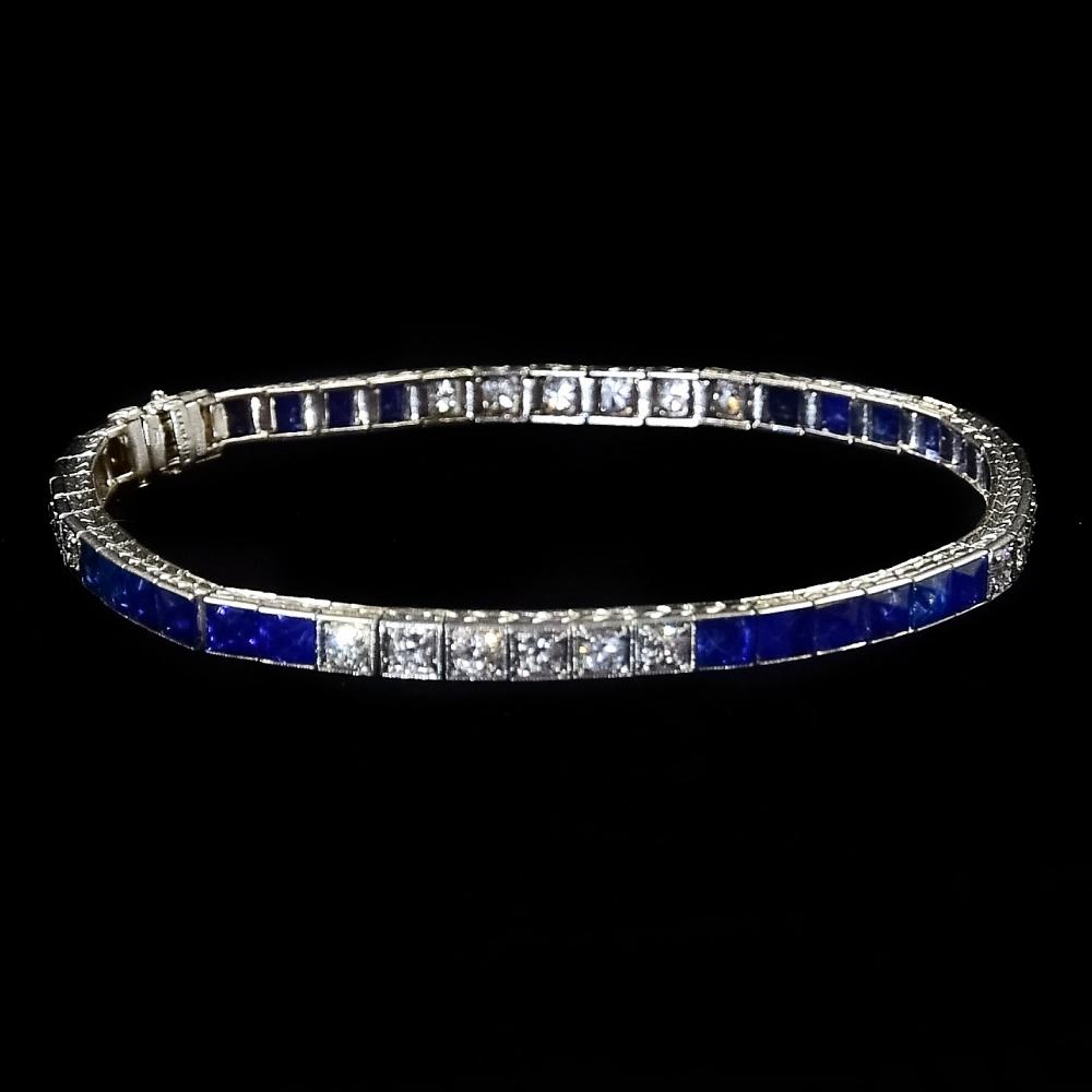 Art Deco rivièra armband