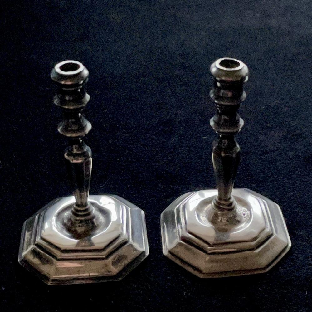 Miniatuurzilveren kandelaren