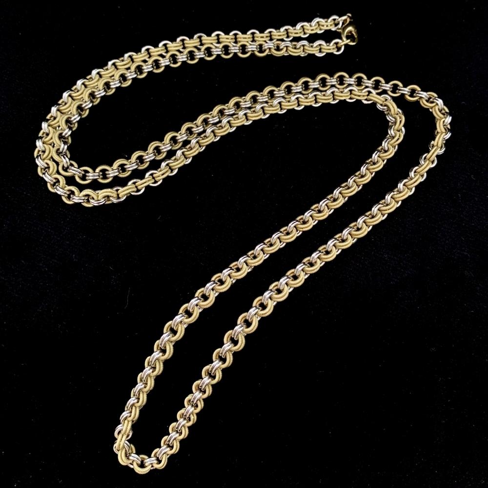 Getextureerde halsketting