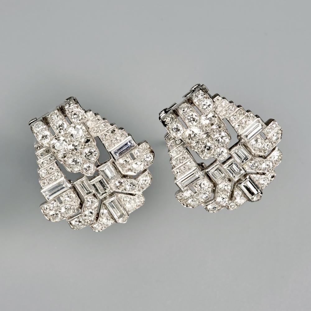 Art Deco clipbroche