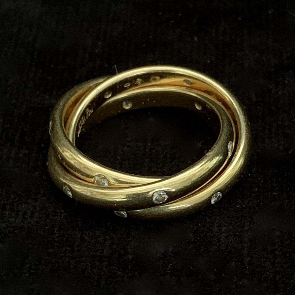 Trinity bandring met diamant