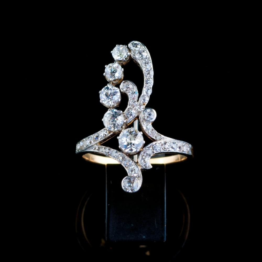 Ring, Art-Nouveau