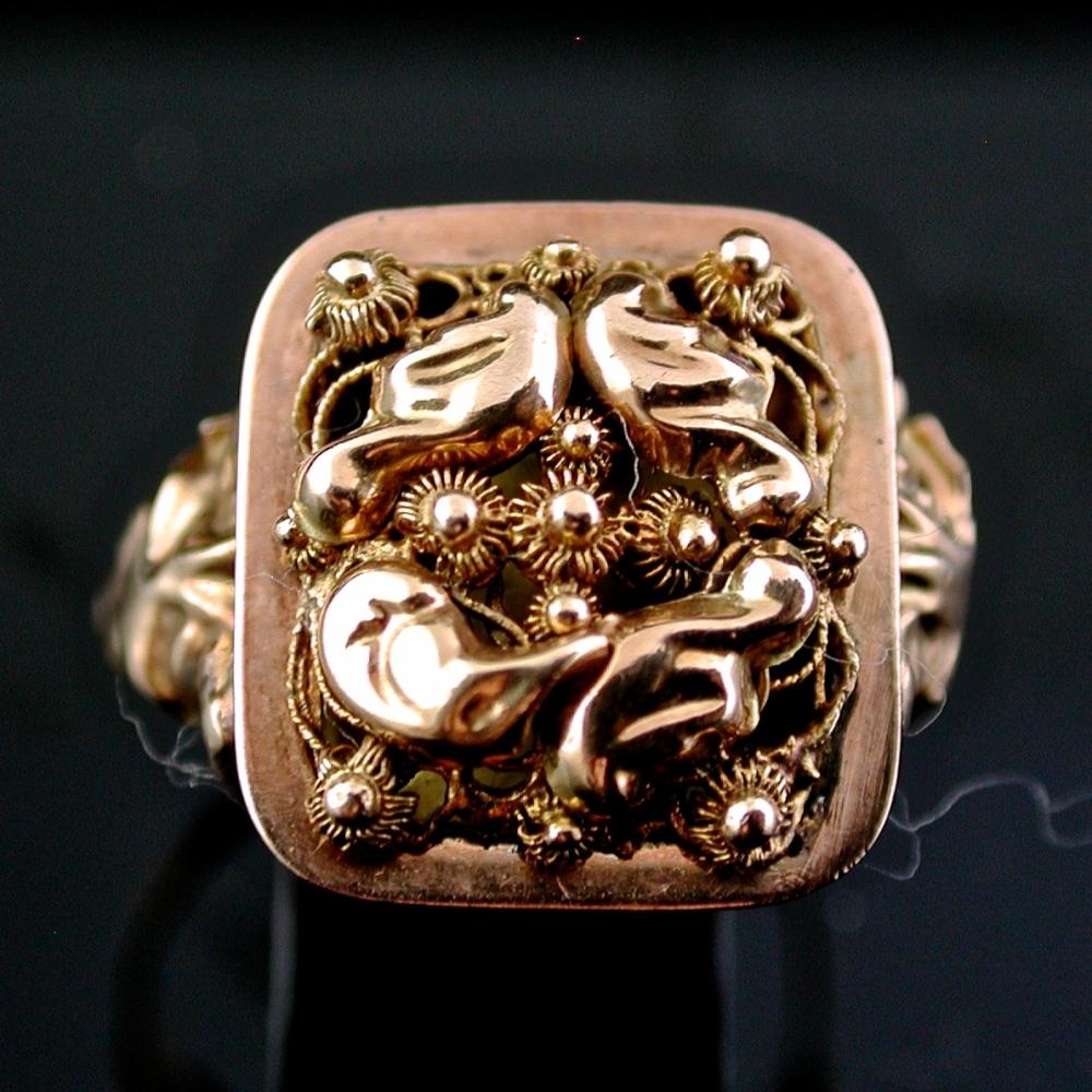 Antieke Nederlandse ring