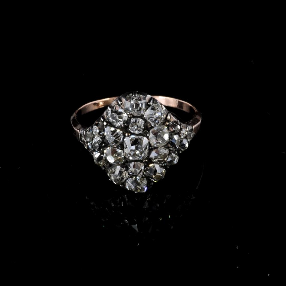 Antieke Diamanten Ring