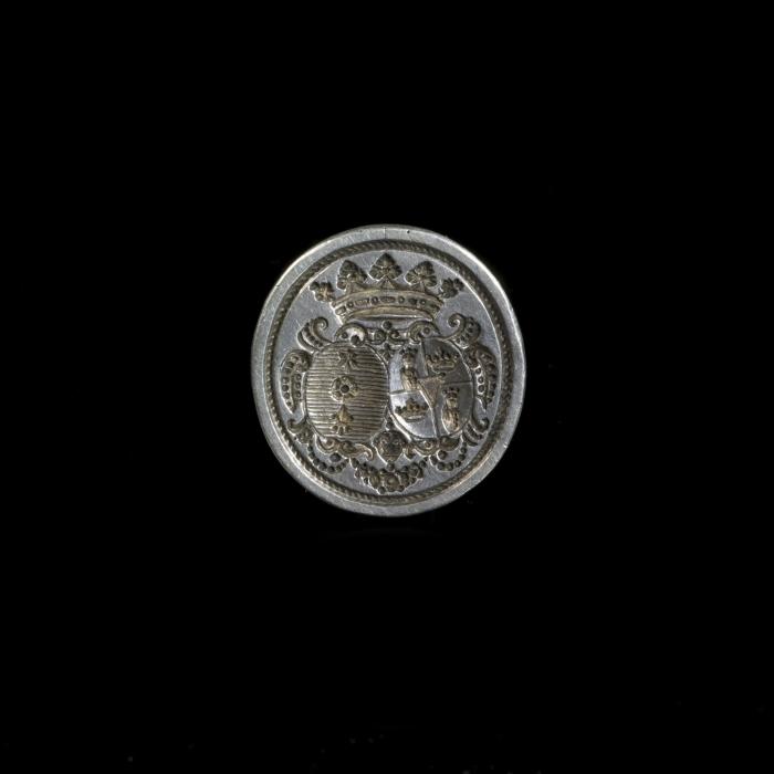 antiek zilveren lakzegel
