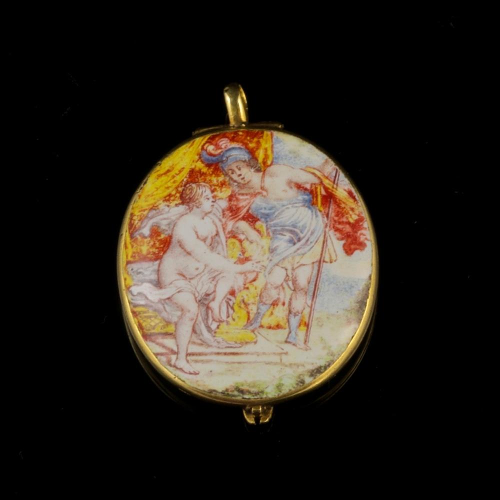 Vroeg 17e-eeuws medallion