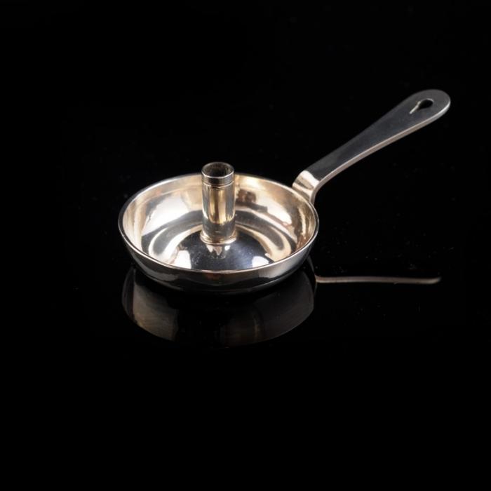 miniatuur zilveren blaker