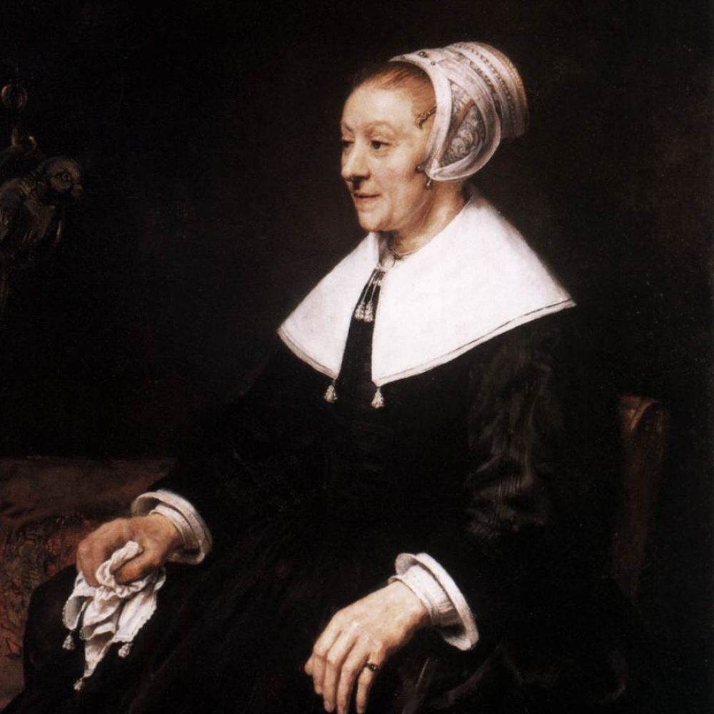 Juwelen in Late Rembrandt