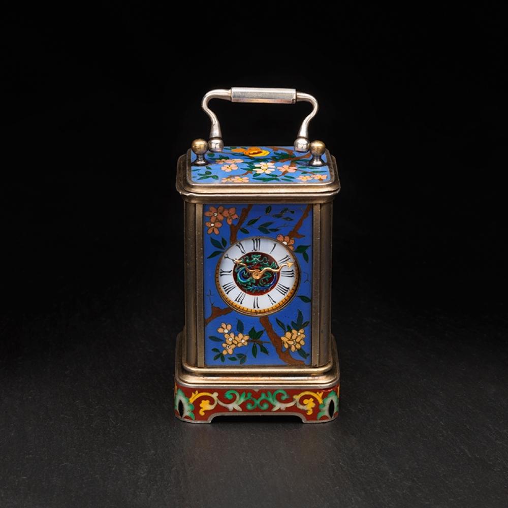 Miniatuur koetsklok, Dekker Antiquairs