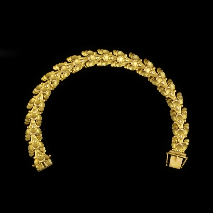 1930s gold bracelet