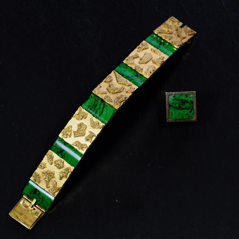 Armband met panelen en maw-sit-sit
