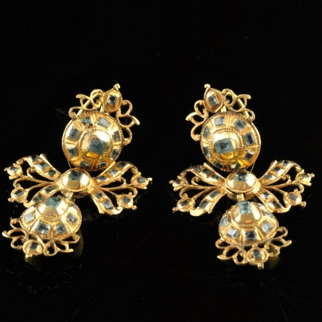 Earrings Girandole