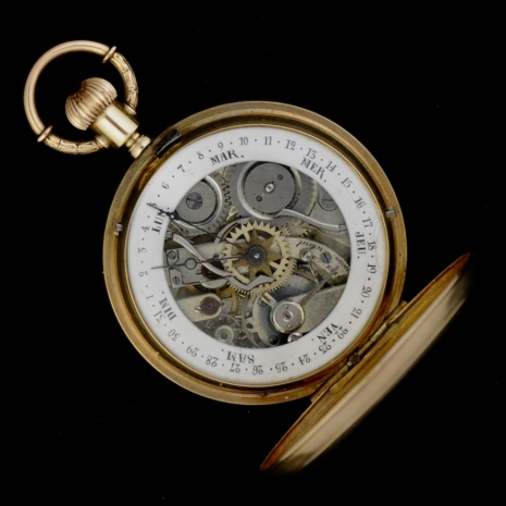 Calander Pocket Watch
