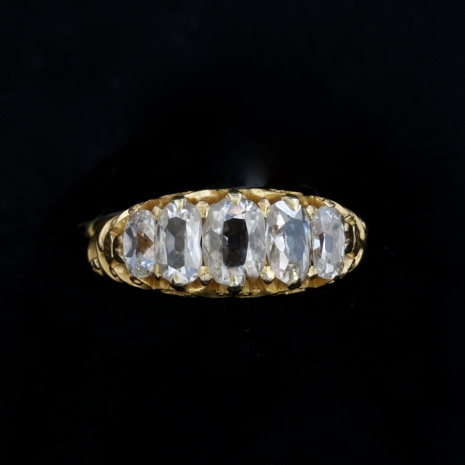 Victorian row ring