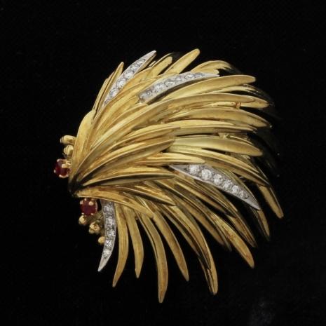 Porcupine Brooch
