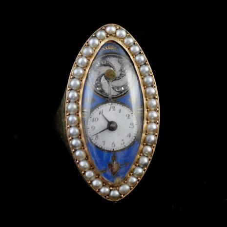 Ring Watch Louis XVI