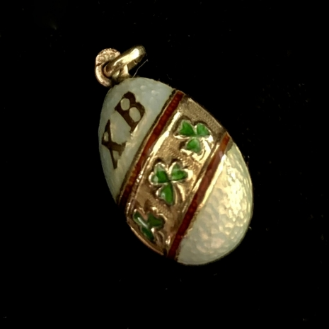 Enameled Russian Egg