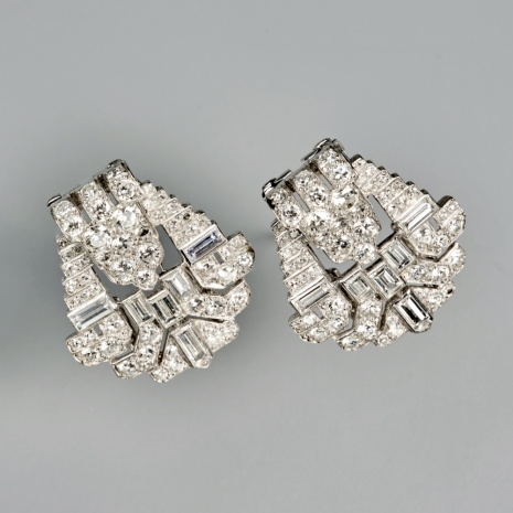 Art Deco Clip Brooch