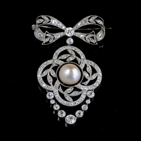 Belle Epoque Brooch/Pendant