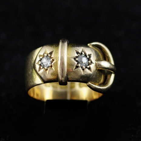 Victorian Buckle Ring