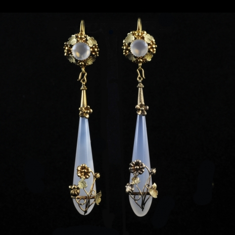 Antique Dutch earrings