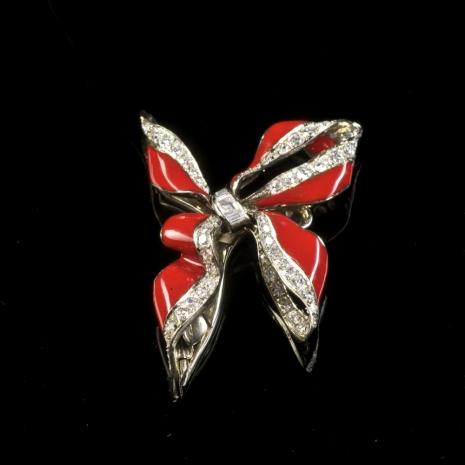 Bow clip/brooch