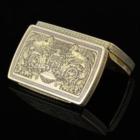 Antique Snuffbox, Neo Classicism