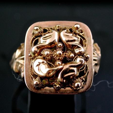 Antique Dutch ring
