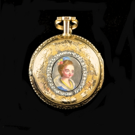 Miniature Portrait Watch
