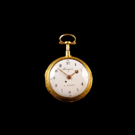 Polychrome repeater pocket watch