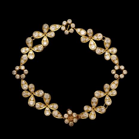 Golden 'Fleur' bracelet