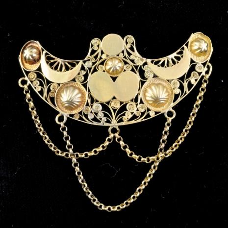 Antique Breast ornament