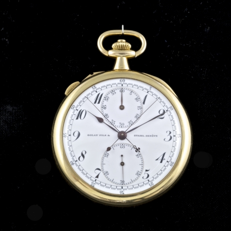Split-second chronograph.