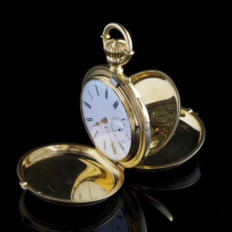 Clockwatch with Grande-Petite sonnerie-minuterepetition