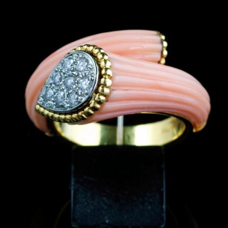 Vintage cornucopia ring