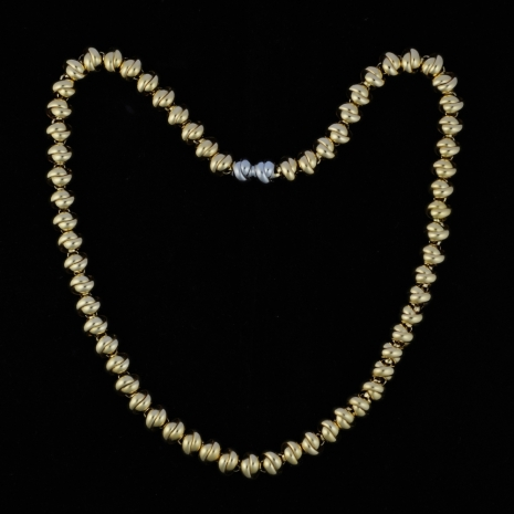 Platinum and Gold Necklace