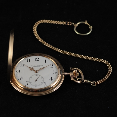 Hunter Case Pocket Watch