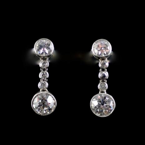 Earrings Art Deco