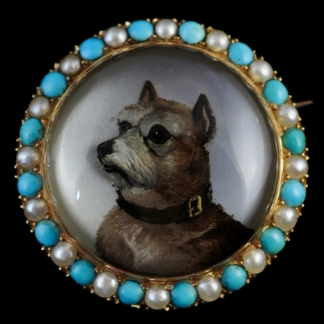 New - animal portraits in rock crystal